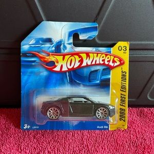 HOT WHEELS 2008 FIRST EDITIONS - AUDI R8 $10 🏎